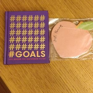 Urban Outfitters book+post its - cute gifts